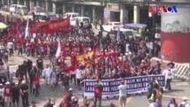 Filipinler'de Duterte Karşıtı Gösteri
