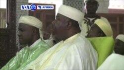 VOA60 AFIRKA: GABON Shugaba Ali Bongo Na Kasar Gabon Ya Yi Adu'ar Zaman Lafiya A Wajen Salar Idii
