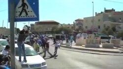 تظاهرات اعتراضی فلسطینان به کشته شدن یک نوجوان فلسطینی