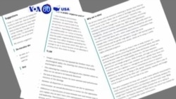 VOA60 America - Fired Google Memo Writer Draws Scorn, Cheers and a Job Offer