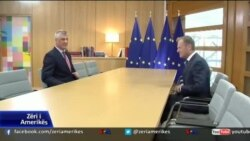 Presidenti Thaçi në Bruksel kërkon përshpejtimin e liberalizimit të vizave për Kosovën