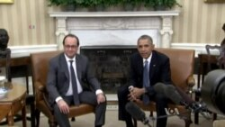 Obama, Hollande Vow to Intensify Fight Against Islamic State