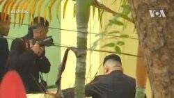 Ngày làm việc đầu tiên của ông Kim Jong Un tại Hà Nội