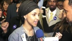Somali Refugee Minnesota Congresswoman Elect Democrat Ilhan Omar Speaks on Victory