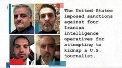 #FreeThePress US Sanctions Iranian Operatives