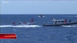 VN phản đối Đài Loan tập trận bắn đạn thật trên Biển Đông