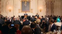 川普在白宫举办晚宴,庆祝穆斯林斋月结束