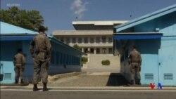 朝鮮半島板門店週六將成為無武器區