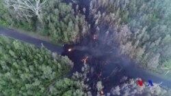 夏威夷基拉韋厄火山向東面噴發更多熔岩