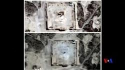 2015-09-01 美國之音視頻新聞:聯合國:照片顯示敘利亞又一座古寺被毀