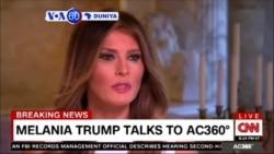 VOA60 DUNIYA: USA Melania Trump Ta Kare Mijinta, Wanda Shine Dan Takarar Shugaban Kasa Na Jam'iyyar Republic Donald Trump