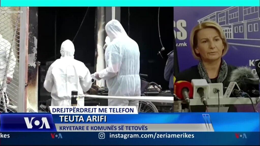 Arifi: Vazhdojnë hetimet; së shpejti identifikimi i viktimave të zjarrit në Tetovë