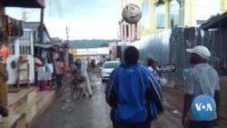 Tanzanian Woman Feeds Family with Soccer Ball Skills