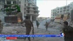 تلاش كردها برای پاكسازی شهر كوبانی سوريه از داعش