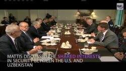 AQSh-O'zbekiston: Pentagonda muzokaralar