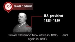America's Presidents - Grover Cleveland