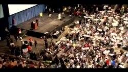 2016-04-11 美國之音視頻新聞: 紐約總統初選在即競選激烈