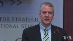 沙利文参议员谈北极新战略报告原声视频