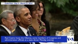 Highlights of US President Barack Obama's Historic Trip to Cuba