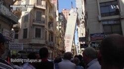 Apartment Building Tilts in Egypt