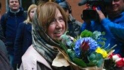 Premio Nobel de Literatura otorgado a bielorrusa Svetlana Alexiévich