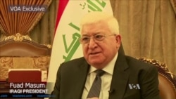 Iraqi President Talks to VOA About Fight Against Islamic State