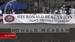 Mỹ phái thêm hàng không mẫu hạm tuần tra Biển Đông