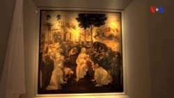 Leonardo da-Vinçinin yarımçıq qalan əsəri Uffizi qalereyasında
