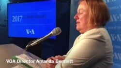 3 VOA Multimedia Journalists Receive Cowan Awards