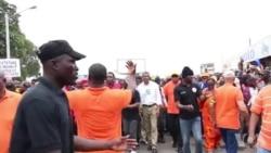 Manifestation à Lomé contre le régime togolais (vidéo)