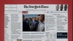 美国五大报头条新闻(2013年10月30日)