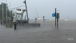 Hurricane Florence Comes Ashore