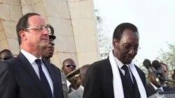法国总统奥朗德访问马里、当地民众热烈欢迎