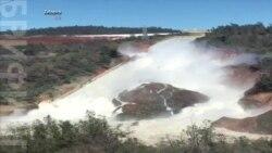 Власти продолжают попытки устранить повреждения водосброса плотины Оровилл