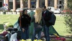 Migrantes sirios quieren salir de Uruguay