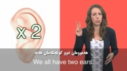 We all have two ears
