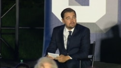 Actor-activist DiCaprio Takes on Government Officials Who Deny Climate Change