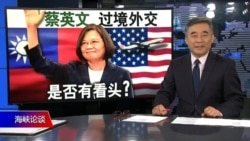 海峡论谈:蔡英文过境外交是否有看头?