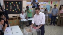 Greeks Voting for New Leadership