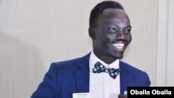 Oballa Oballa has been elected to the City Council of his adopted hometown of Austin, Minnesota. He is the first refugee, first immigrant and first person of color to serve on the council. (Photo courtesy Oballa Oballa)