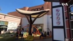 新冠病毒阴影笼罩,洛杉矶锁城关店商业激情继续燃烧