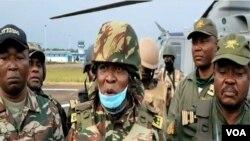 General Valere Nka, commander of the Cameroonian troops fighting separatists in the English-speaking North-West region, Dec. 12, 2020. (Moki Edwin Kindzeka/VOA)