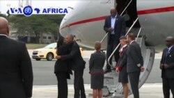 VOA60 Africa - Former U.S. President Barack Obama visits Kenya