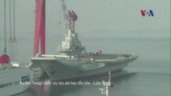 Trung Quốc xây tàu sân bay thứ nhì