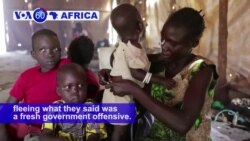 VOA60 Africa - South Sudan: UN says more than 16,000 children are missing or unaccompanied