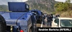 Kosovska policija u Jarinju.