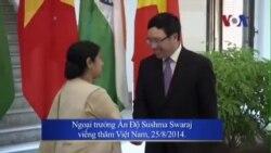 Việt Nam, Ấn Ðộ tăng cường hợp tác quốc phòng, thương mại