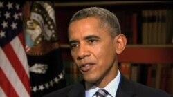 2013-10-06 美國之音視頻新聞: 奧巴馬期望國會將提高國債上限