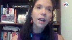Debora Leao, investigadora en el programa CIVICUS