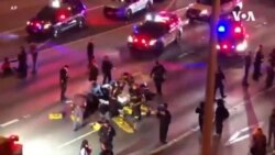西雅圖抗議者在一封閉高速路被車重撞死亡